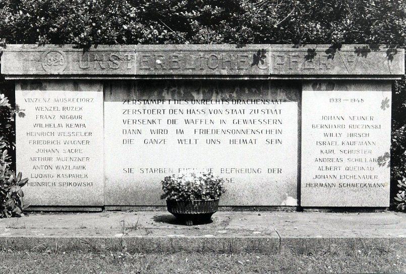 Foto des Denkmals gegen den Kapp-Lüttwitz-Putsch