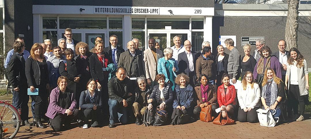 Teilnehmer des UNESCO-symposiums zusammen mit Vertreter/innen des WEL