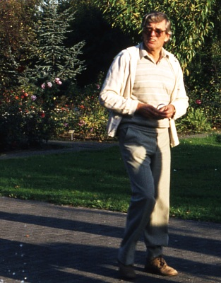 Foto: Dr. Sievert auf dem Lehrerausflug nach Seppenrade