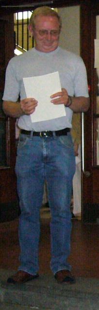 Winfried Nelle als Stufenleiter AS4 bei der FHR Zeugnisverleihung 2007