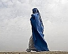 Foto: Frau mit Burka