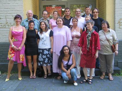 Die Abschlussklasse 2005