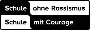 """Logo """"Schule ohne Rassismus - Schule mit Courage"""""""