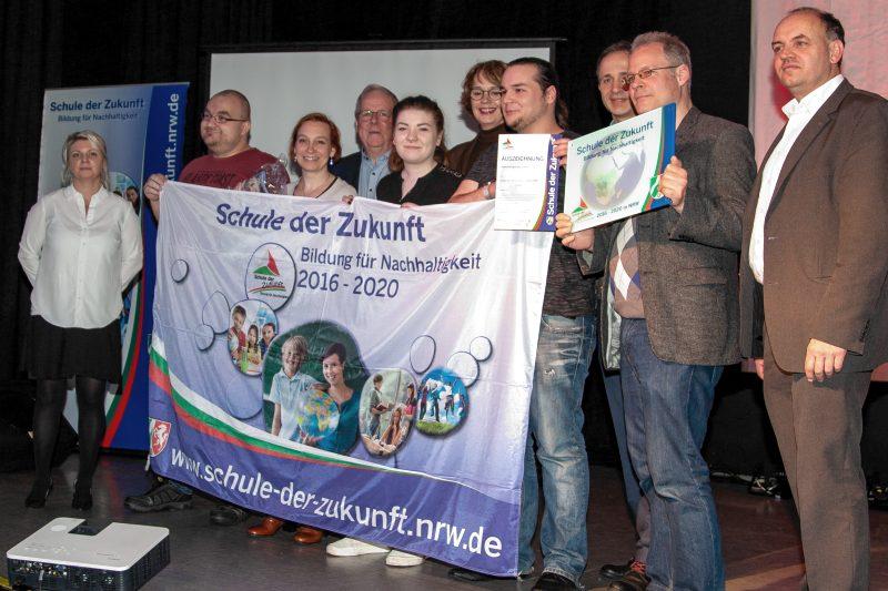 Auszeichnung als Schule der Zukunft