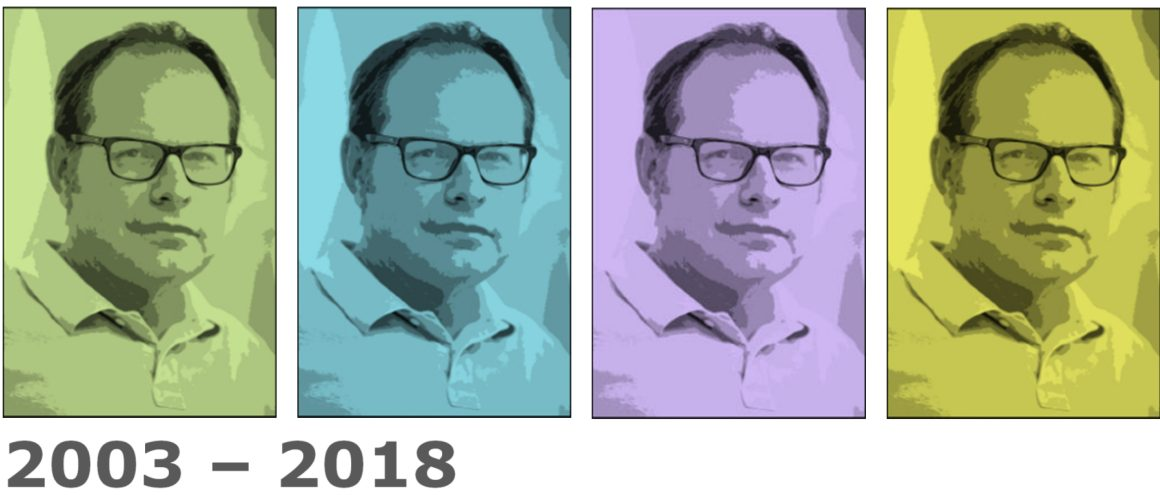 Collage Günter Jahn 2003-2018