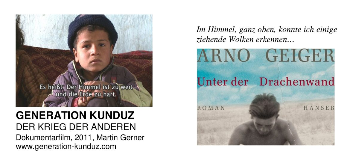 Generation Kunduz: Dokumentarfilm vs. Arno Geiger: Unter der Drachenwand