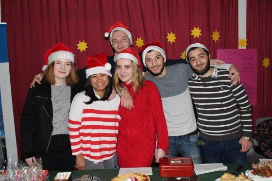 Foto von der Weihnachstbäckerei