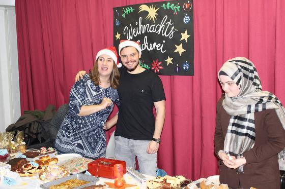 Foto von der Weihnachtsbäckerei